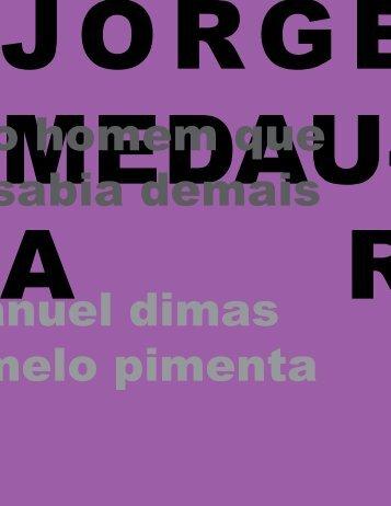 Fragmento do texto de Jorge Medauar - Emanuel Pimenta