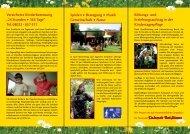 Flyer Kinderbetreuung Kinderwelt Bad Wiessee - Tegernsee.com