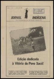 JORNAL INDÍGENA Edição dedicada à Vitória do Povo Xocó!
