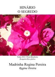 Mad. Regina Pereira O Segredo