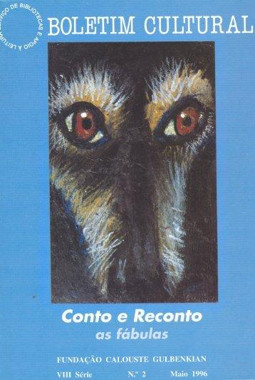ConfoI e Recanto' - Leitura Gulbenkian - Fundação Calouste ...
