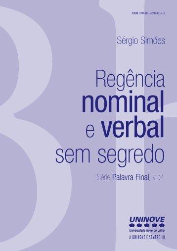 concordancia nominal e verbal pdf
