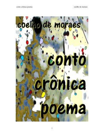 conto crônica poema coelho de moraes 1 - Página de Ideias