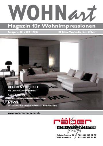 Wohn Magazine 5 free magazines from wohncenterraeber