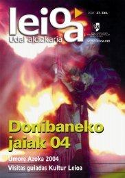 Nº 27 - Leioako Udala