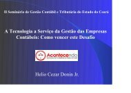 Tecnologia - Hélio Doin Júnior - Associação dos Contabilistas do ...