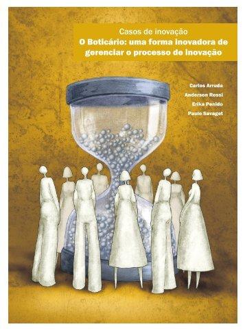 Casos de inovação O Boticário: uma forma inovadora ... - Portal FDC