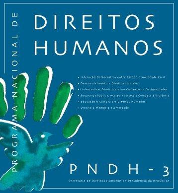 PnDH-3 - Ministério da Justiça
