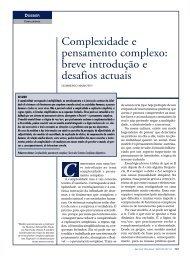 Complexidade e pensamento complexo: breve introdução e ...