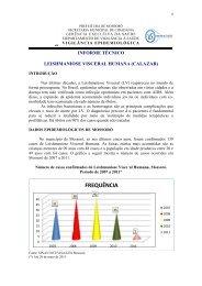 Informe Técnico 2011 - Prefeitura de Mossoró