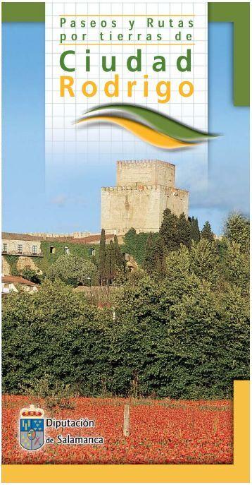 folleto ciudad rodrigo.qxd - Diputación de Salamanca