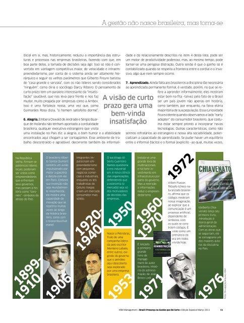 A gestão não nasce brasileira, mas torna-se - Movimento Brasil - HSM