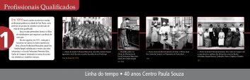 Profissionais Qualificados - Centro Paula Souza - Governo do ...