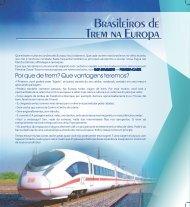 Brasileiros de Trem na Europa