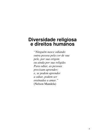 Diversidade Religiosa e Direitos Humanos, Cartilha - DHnet