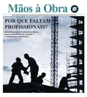 Edição Março/Abril 2012 - aeapg