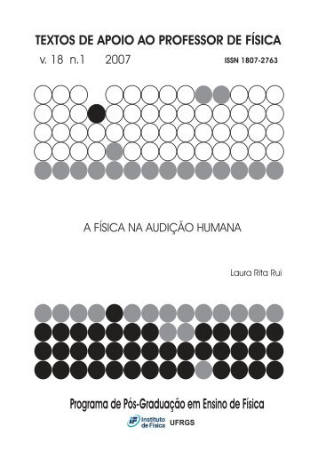 A Física na audição humana - Instituto de Física - UFRGS