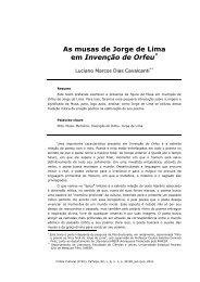 4. As musas de Jorge de Lima em Invenção de Orfeu - Programa de ...