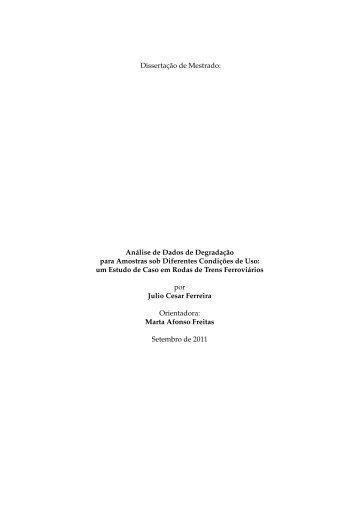 um Estudo de - Biblioteca Digital de Teses e Dissertações da UFMG