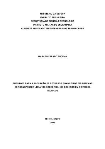 ministério da defesa exército brasileiro secretaria de ciência e ...