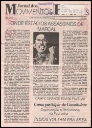ÍSIDE ESTÃO OS ASSASSINOS DE MARÇAL