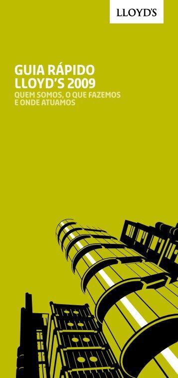 Lloyd's Quick Guide 2009 - Portuguese Brazilian