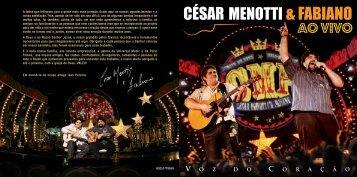 césar menotti & fabiano / ao vivo - Novaembalagem.umw.com.br