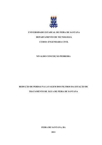 nivaldo conceição pedreira - acessos - Universidade Estadual de ...