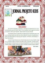 Natal solidário - Projeto Kids - Educação Infantil