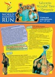 Folhetos - World Harmony Run