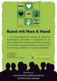 Kunst mit Herz & Hand - Kinderhospiz Bärenherz Leipzig eV