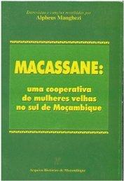 macassane: uma cooperativa de mulheres velhas no ... - SAS-Space
