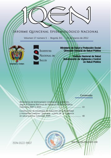 Contenido - Instituto Nacional de Salud