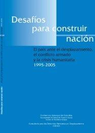Desafíos para construir nación - DISASTER info DESASTRES