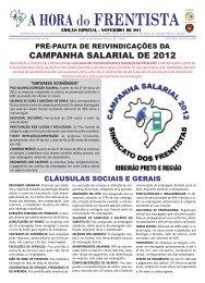 Especial Campanha Salarial/2012 - Sindicatodosfrentistas.com.br