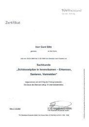 Schimmel-Seminar - Kurt Bätz  GmbH