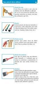Pincéis e Rolos Como escolher - Os Mosqueteiros - Page 3