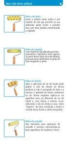 Pincéis e Rolos Como escolher - Os Mosqueteiros - Page 5