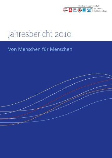 BAGFW - Jahresbericht 2010, Printversion