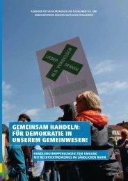 GEMEINSAM HANDELN: FÜR DEMOKRATIE  IN UNSEREM ...