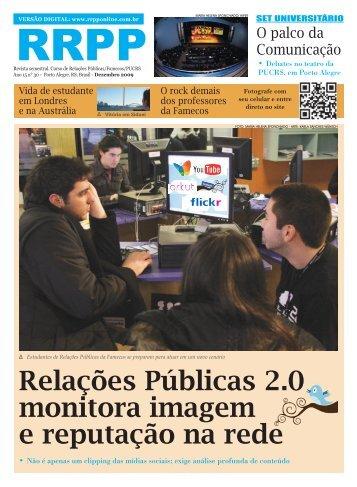 Relações Públicas 2.0 monitora imagem e reputação na rede