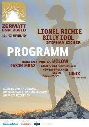 Hotel & Business TV Websites Touch- and ... - Zermatt Unplugged