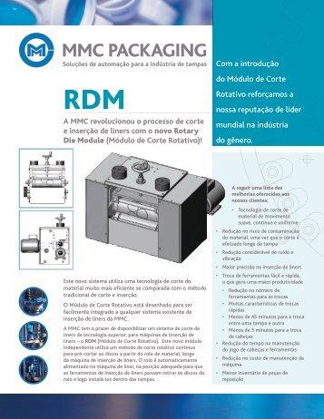 (Módulo de Corte Rotativo)! - MMC Packaging Equipment