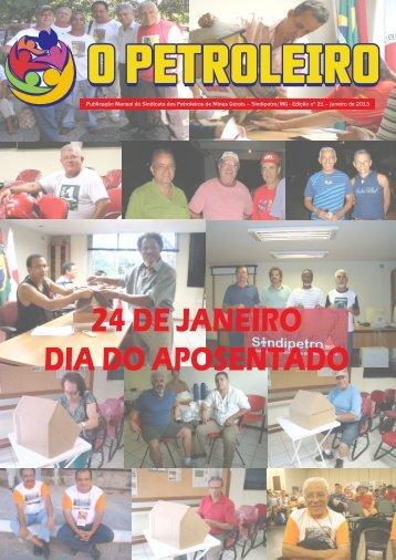 24 DE JANEIRO DIA DO APOSENTADO - Sindipetro MG
