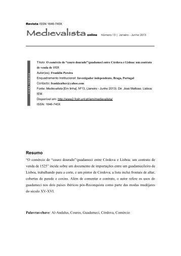Resumo - Universidade Nova de Lisboa