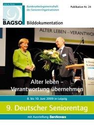 9. Deutscher Seniorentag - Bagso
