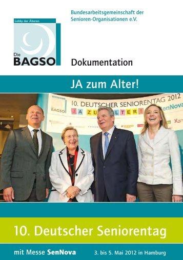 Dokumentation zum 10. Deutschen Seniorentag 2012 (PDF, ca. 4 MB)