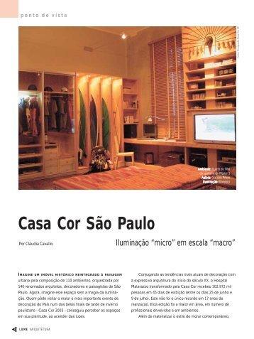 Divulgação Casa Cor SP - Lume Arquitetura