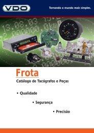 Catálogo de Tacógrafos e Peças • Qualidade ... - Desotec.com.br