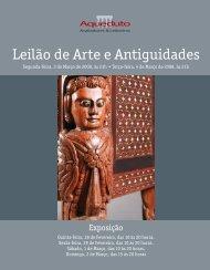 Leilão de Arte e Antiguidades - Aqueduto